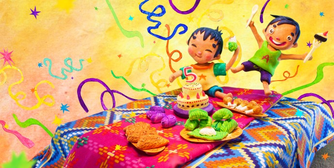 4 - Birthday Celebration(Malong the Magic Cloth)