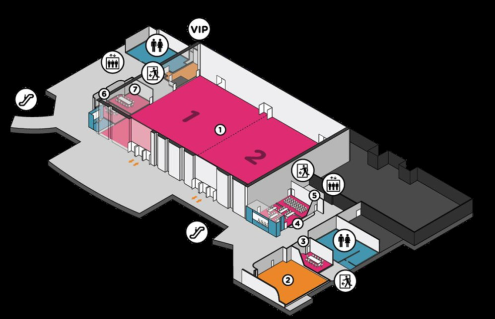 Event Floor Plan